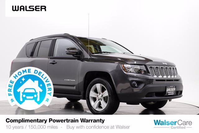 Pre-Owned 2016 Jeep Compass LATITUDE 4WD BCAM