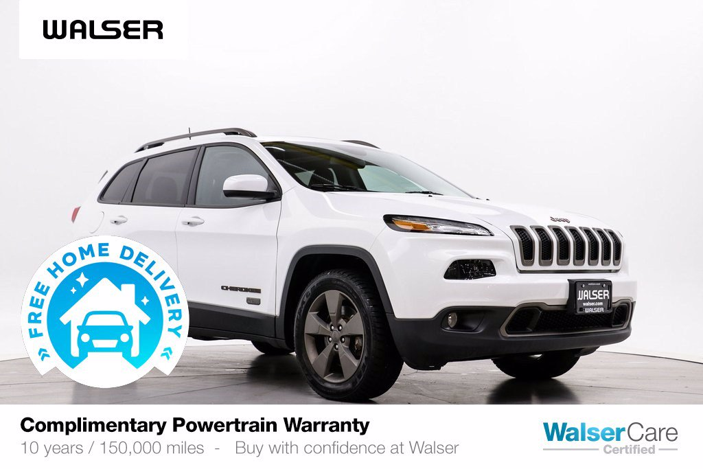 Pre-Owned 2017 Jeep Cherokee LATITUDE 4WD 75TH