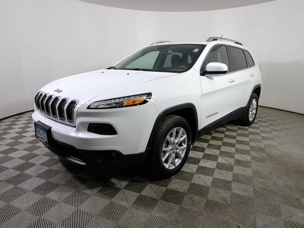 pre-owned 2016 jeep cherokee latitude sport utility in hopkins