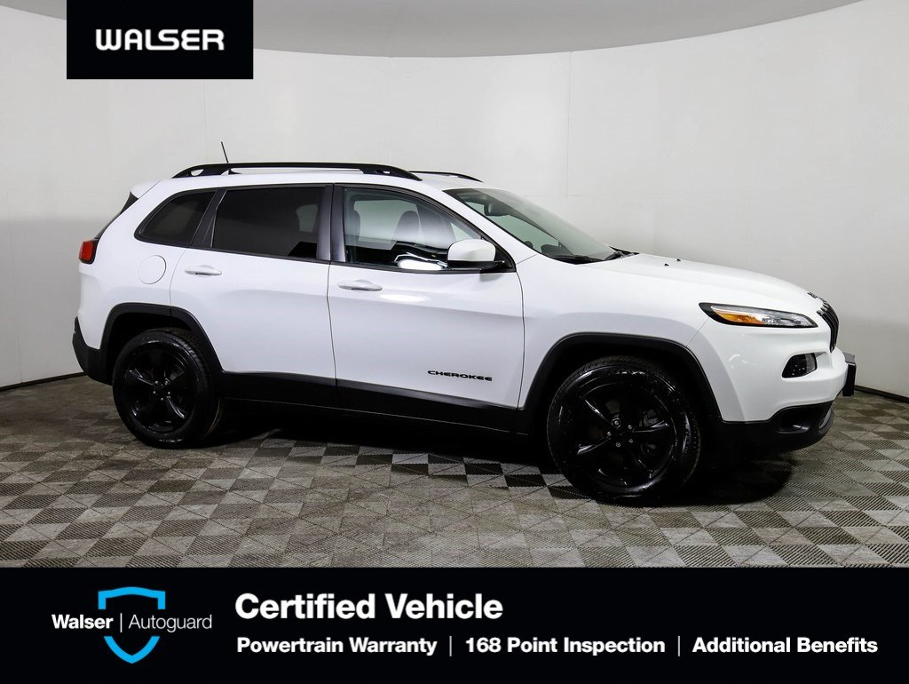 Pre-Owned 2016 Jeep Cherokee ALTITUDE 4WD