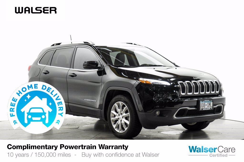 Pre-Owned 2017 Jeep Cherokee LTD 4WD V6 SAFETY