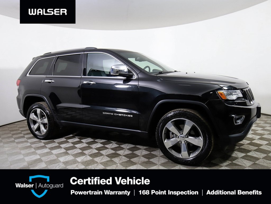 Pre-Owned 2015 Jeep Grand Cherokee LIMITED 4WD LUXII