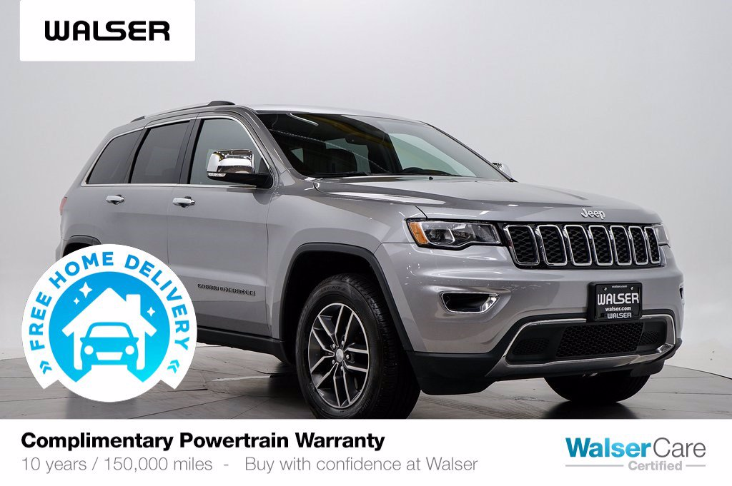 Pre-Owned 2017 Jeep Grand Cherokee LTD 4WD V6 SUN NAV
