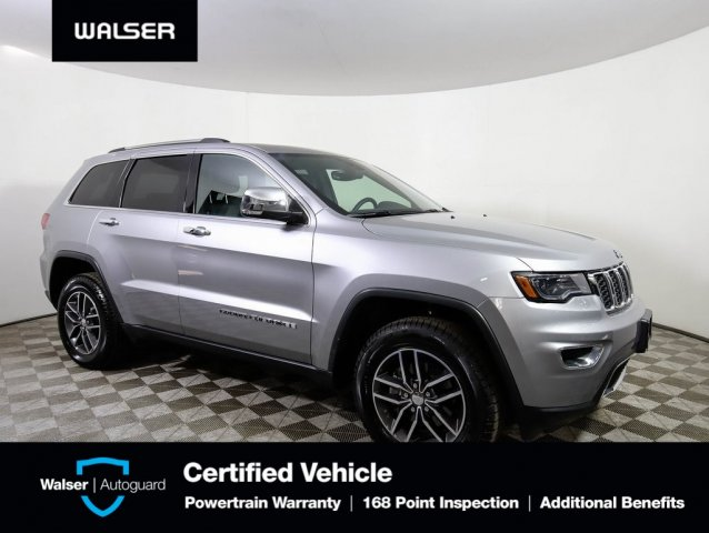 Pre-Owned 2018 Jeep Grand Cherokee LIMITED 4WD LUX PK