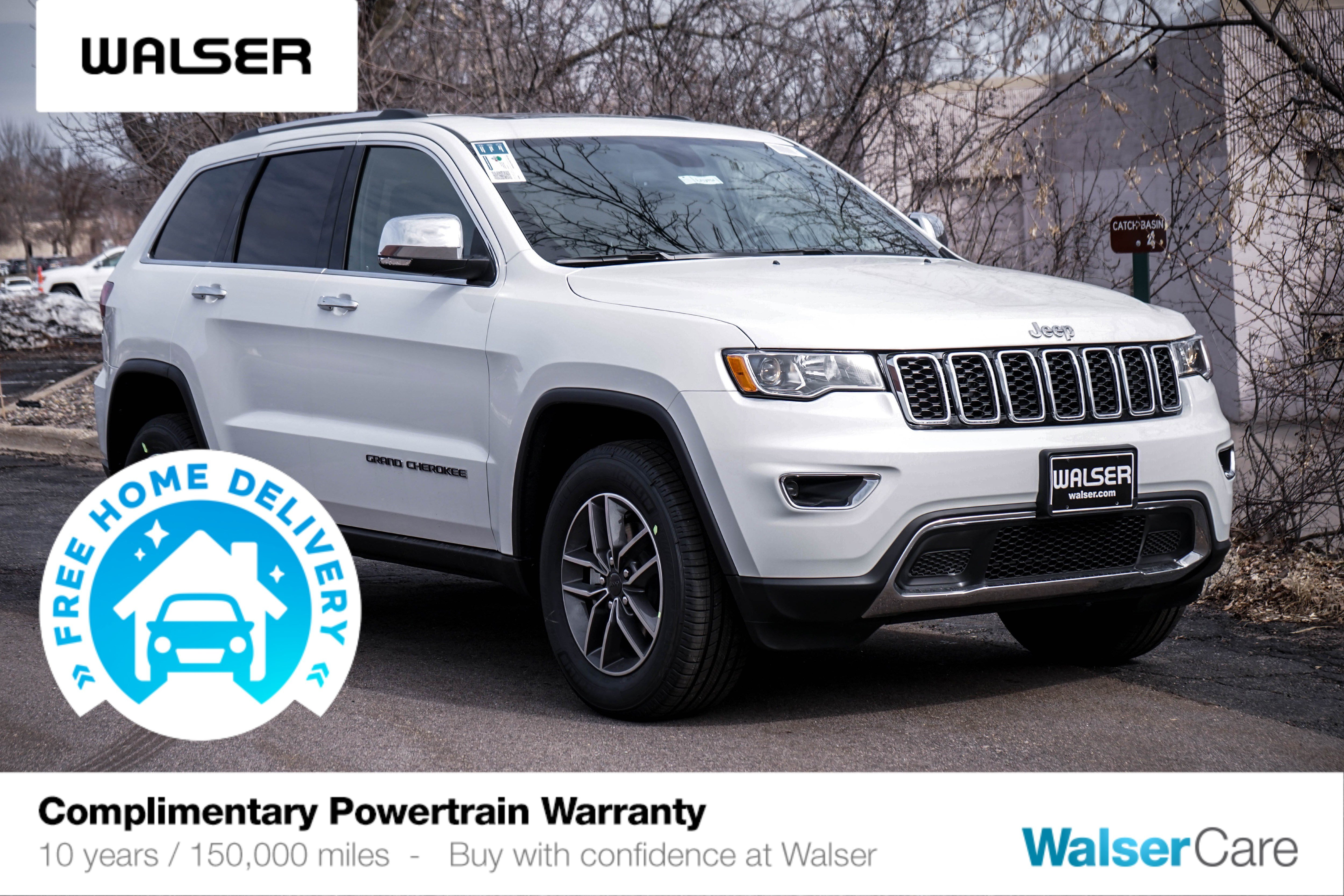 New 2020 JEEP Grand Cherokee JEEP GRAND CHEROKEE LIMITED 4X4