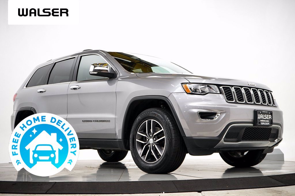 Pre-Owned 2017 Jeep Grand Cherokee LTD V6 SUN NAV