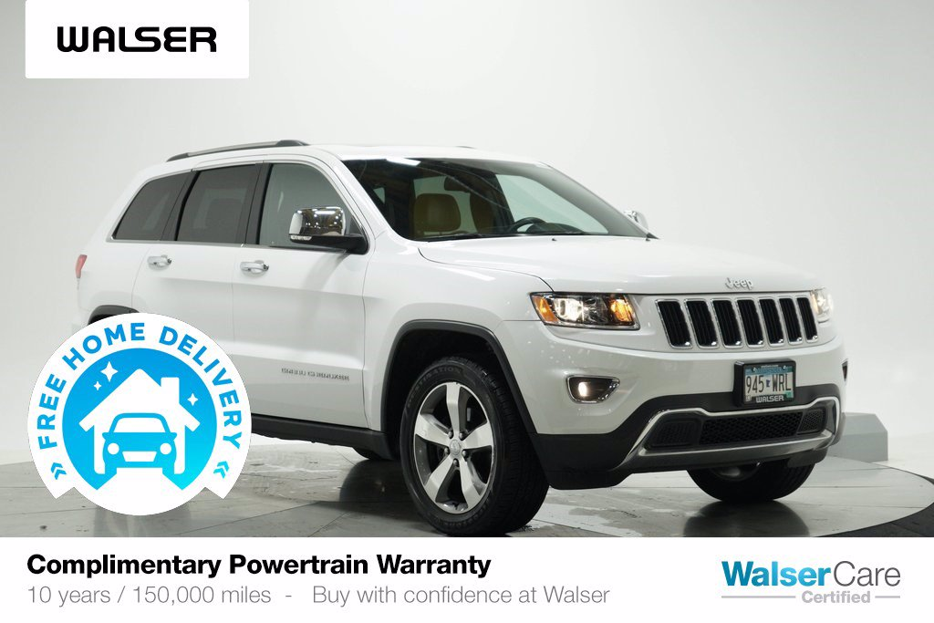 Pre-Owned 2016 Jeep Grand Cherokee LIMITED 4WD SUN