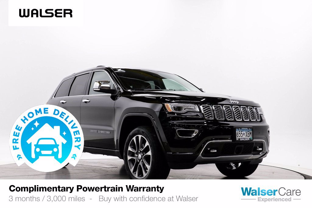 Pre-Owned 2017 Jeep Grand Cherokee OVERLAND 4WD V6