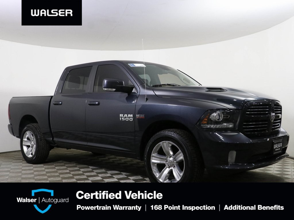 2016 Ram 1500 Sport >> Pre Owned 2016 Ram 1500 Sport Crew Cab 4wd With Navigation 4wd