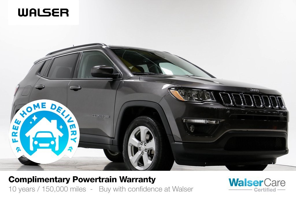 Pre-Owned 2019 Jeep Compass LATITUDE 4WD