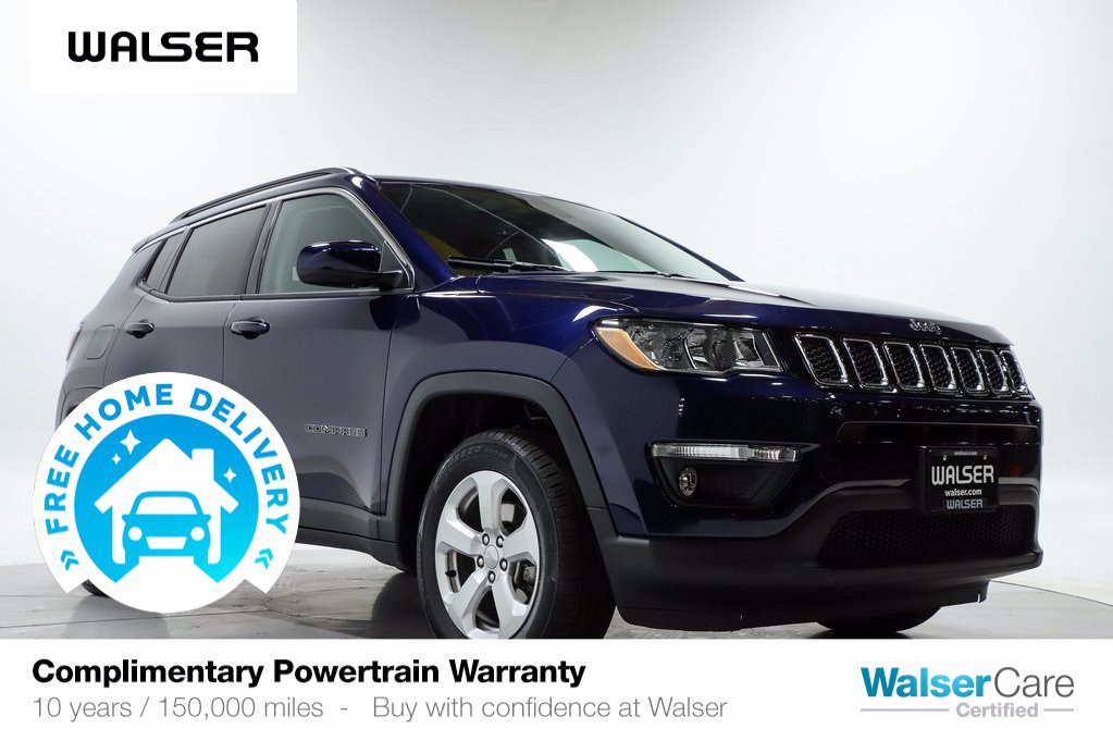 Pre-Owned 2019 Jeep Compass LATITUDE 4WD HSTS