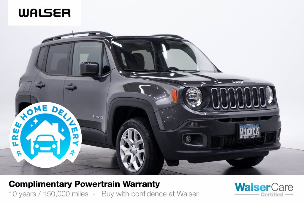Pre-Owned 2017 Jeep Renegade LATITUDE 4WD COLD
