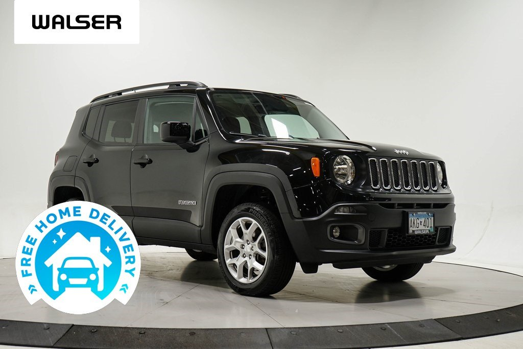 Pre-Owned 2017 Jeep Renegade LATITUDE POP NAV