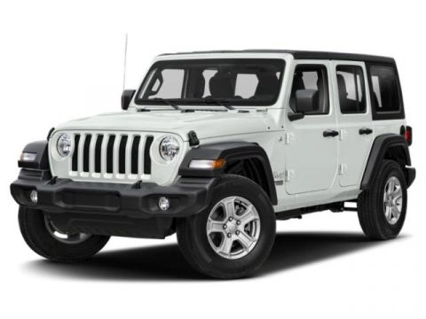 New 2020 JEEP Wrangler JEEP WRANGLER UNLIMITED SAHARA
