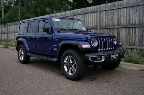 New 2019 JEEP Wrangler 2019 JEEP WRANGLER UNLIMITED SAHARA 4DR SUV 118.4 WB 4WD