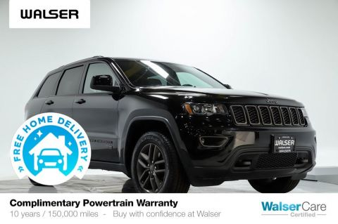 Pre-Owned 2017 Jeep Grand Cherokee LAREDO 4WD 75TH
