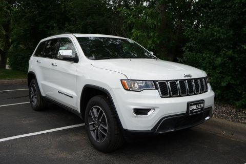 New 2019 JEEP Grand Cherokee JEEP GRAND CHEROKEE LIMITED 4X4