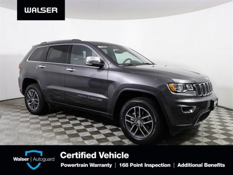 Pre-Owned 2018 Jeep Grand Cherokee Ltd ActiveSafety