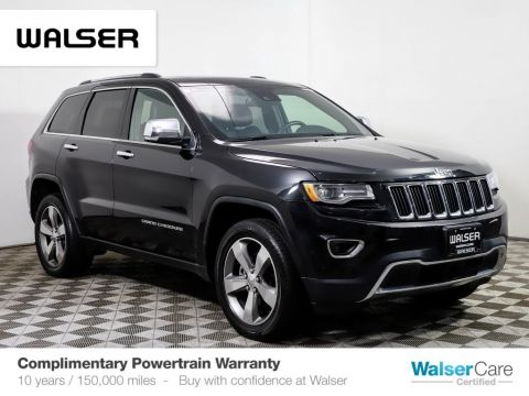 Pre-Owned 2016 Jeep Grand Cherokee LuxII Tech Nav 20s
