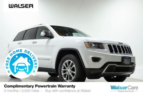Pre-Owned 2014 Jeep Grand Cherokee LIMITED 4WD V6