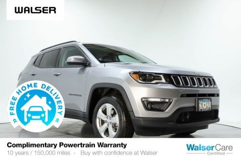 Pre-Owned 2018 Jeep Compass LATITUDE NAV 4WD